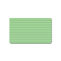 Decorative lines pattern Magnet (Name Card)