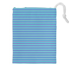 Decorative lines pattern Drawstring Pouches (XXL)