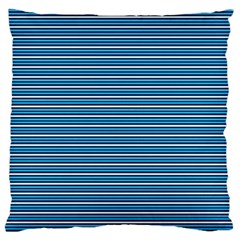Decorative Lines Pattern Large Cushion Case (two Sides)