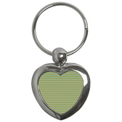 Decorative line pattern Key Chains (Heart)