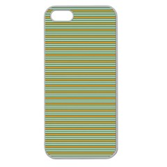 Decorative line pattern Apple Seamless iPhone 5 Case (Clear)