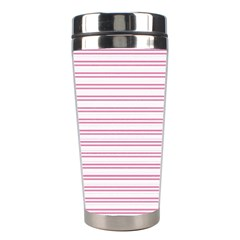 Decorative Line Pattern Stainless Steel Travel Tumblers