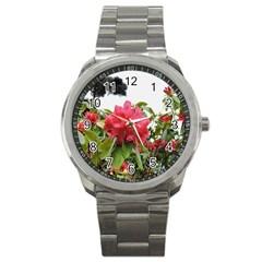 Virginia Waters Flowers Sport Metal Watch
