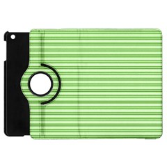Decorative line pattern Apple iPad Mini Flip 360 Case