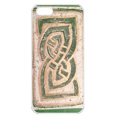 Ab Celtic Swirl Apple Iphone 5 Seamless Case (white)