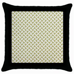 Artistic pattern Throw Pillow Case (Black)