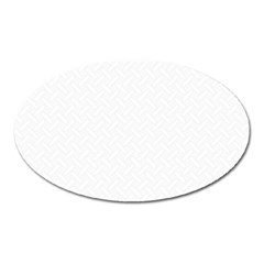Artistic Pattern Oval Magnet