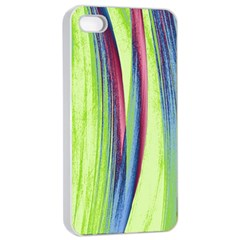 Artistic pattern Apple iPhone 4/4s Seamless Case (White)