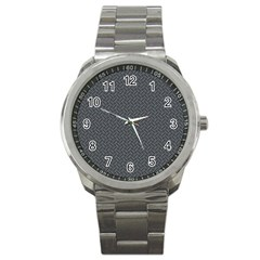 Artistic pattern Sport Metal Watch