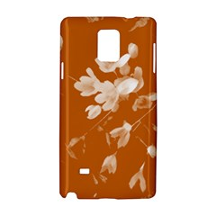 Autumn Crocus Orange Samsung Galaxy Note 4 Hardshell Case