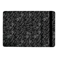 Linear Abstract Black And White Samsung Galaxy Tab Pro 10 1  Flip Case