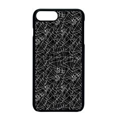 Linear Abstract Black And White Apple Iphone 7 Plus Seamless Case (black)
