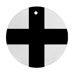 Greek Cross Ornament (round)