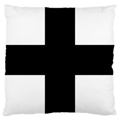 Greek Cross Large Cushion Case (Two Sides)