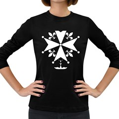 Huguenot Cross Women s Long Sleeve Dark T-Shirts