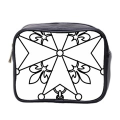 Huguenot Cross Mini Toiletries Bag 2 Side