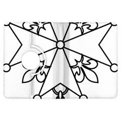 Huguenot Cross Kindle Fire HDX Flip 360 Case