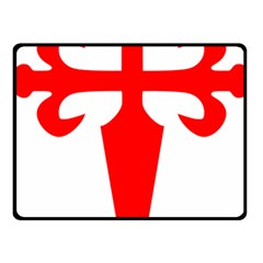 Cross of Saint James Fleece Blanket (Small)