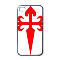Cross Of Saint James Apple Iphone 4 Case (black)
