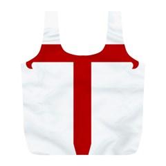 Cross of Saint James Full Print Recycle Bags (L)