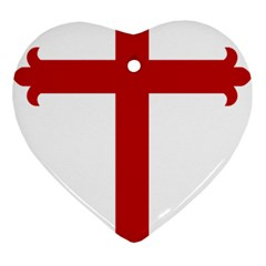 Cross Of Saint James Ornament (heart)