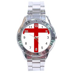 Cross of Saint James Stainless Steel Analogue Watch