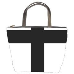 Latin Cross  Bucket Bags