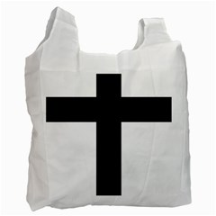 Latin Cross  Recycle Bag (Two Side)