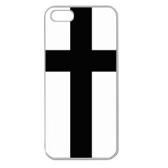Latin Cross  Apple Seamless iPhone 5 Case (Clear)