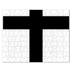 Latin Cross  Rectangular Jigsaw Puzzl