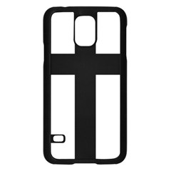 Latin Cross  Samsung Galaxy S5 Case (Black)