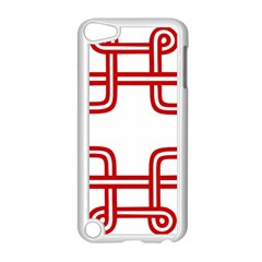 Macedionian Cross Apple iPod Touch 5 Case (White)
