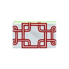 Macedionian Cross Cosmetic Bag (XS)