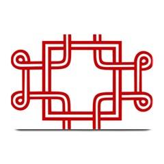 Macedonian Cross Plate Mats