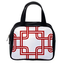 Macedonian Cross Classic Handbags (One Side)