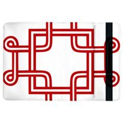 Macedonian Cross iPad Air 2 Flip
