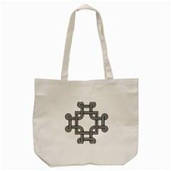 Macedonian Cross Tote Bag (Cream)