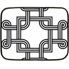 Macedonian Cross Fleece Blanket (Mini)