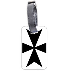 Maltese Cross Luggage Tags (Two Sides)