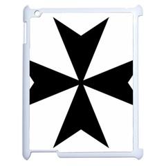 Maltese Cross Apple Ipad 2 Case (white)