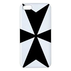 Maltese Cross Apple Iphone 5 Premium Hardshell Case