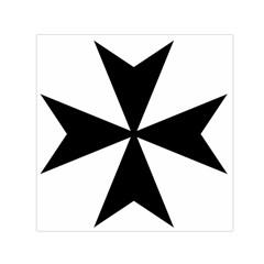 Maltese Cross Small Satin Scarf (Square)