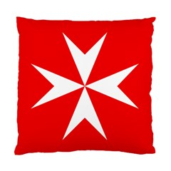 Cross of the Order of St. John  Standard Cushion Case (Two Sides)