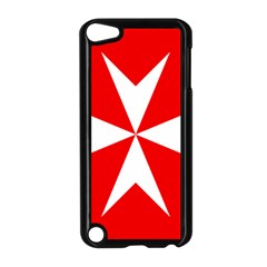 Cross of the Order of St. John  Apple iPod Touch 5 Case (Black)