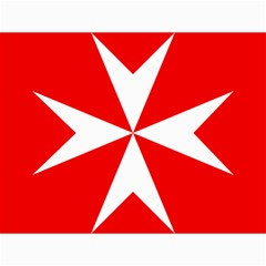 Cross of the Order of St. John  Canvas 18  x 24
