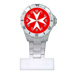 Cross of the Order of St. John  Plastic Nurses Watch