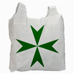 Cross of Saint Lazarus  Recycle Bag (Two Side)