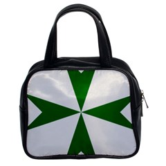 Cross of Saint Lazarus Classic Handbags (2 Sides)