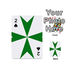 Cross of Saint Lazarus Playing Cards 54 (Mini)