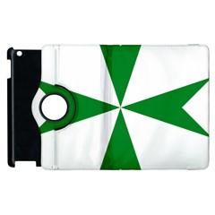 Cross of Saint Lazarus Apple iPad 3/4 Flip 360 Case